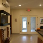 Front Desk Reception Area at Valencia Veterinary Center